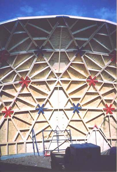 GoodKarmadomes - Geodesic dome home